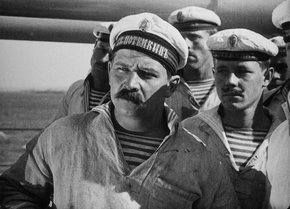 Кадр из фильма «Броненосец Потёмкин»
