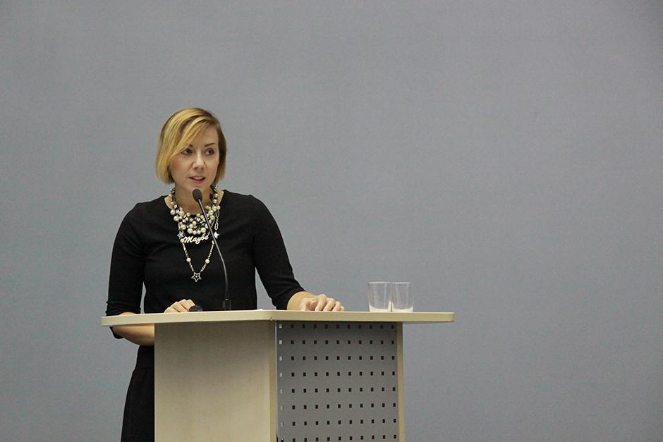 Выступление Агнешки Ольшевской-Брусило на Юбилейной конференции РГБМ