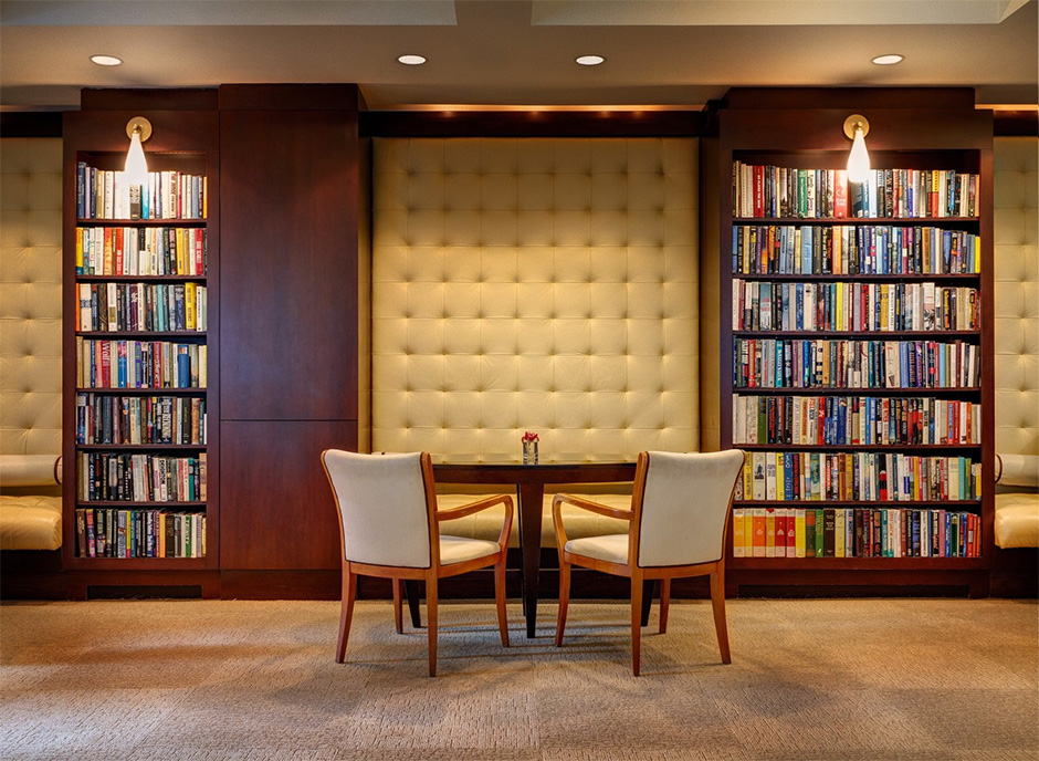 Library Hotel в Нью-Йорке