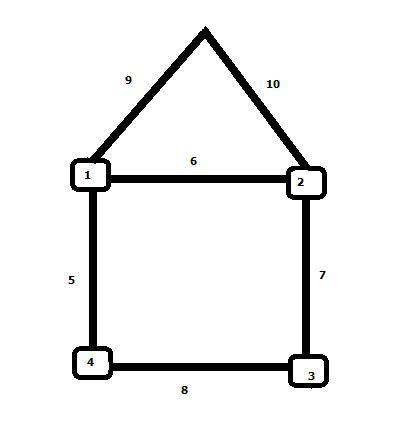 «Домик» 10-позиционный для задач учёта и сбора статистики